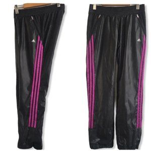 Adidas Black Relaxed Fit Straight Leg Track Pant S